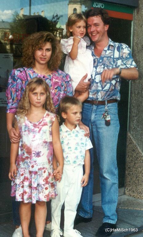 Familie Schreiner Hannes, Karin, Petra, Markus und Katrin 24. September 1998